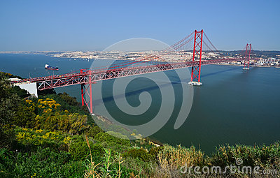 Lisbon 25th April Bridge (25 de Abril), Portugal