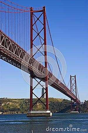 Free Lisbon Bridge Stock Image - 6176951