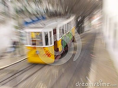 Lisbon Gloria lift