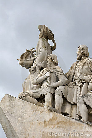 Free Lisbon - Henry The Navigator, Monument To The Disc Stock Photo - 18895850