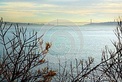 Lisbon on the horizon