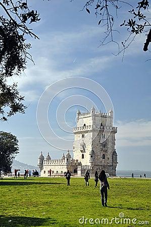 Lisbon landmark Editorial Image