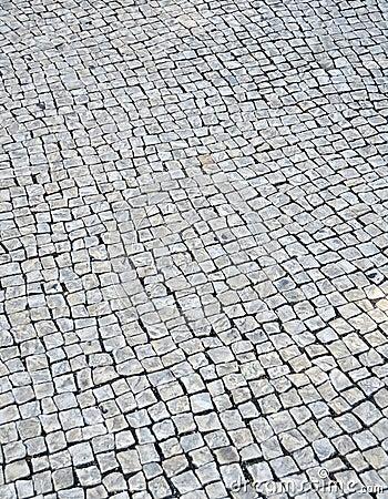 Lisbon pavement background
