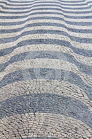 Lisbon pavement Waves