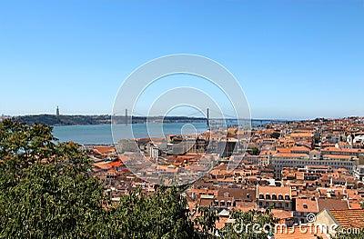 Lisbon, Portugal, 25th of April Bridge