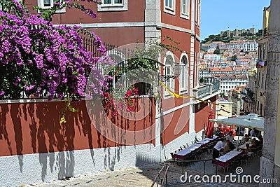Lisbon restaurant, Portugal