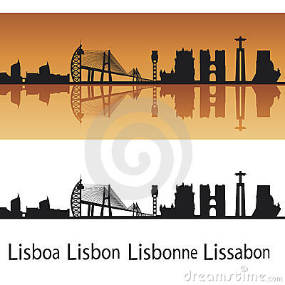 Free Lisbon Skyline Stock Photography - 23330892