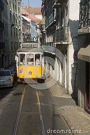 Lisbon tram Editorial Photo