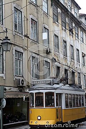 Lisbon tram Editorial Image
