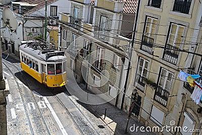 Lisbon tram Editorial Photography