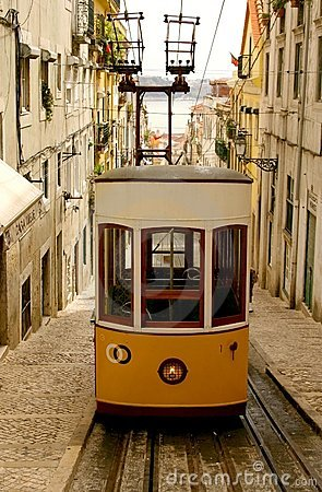 Lisbon Tran Editorial Stock Photo