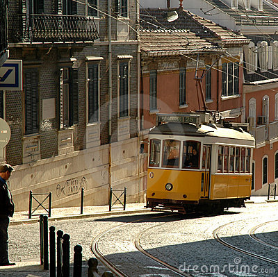 Lisbon Trolley Editorial Photography