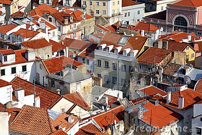 Lisbon - View over Alfama