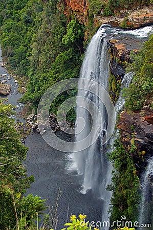 Lisbon waterfall, South Africa