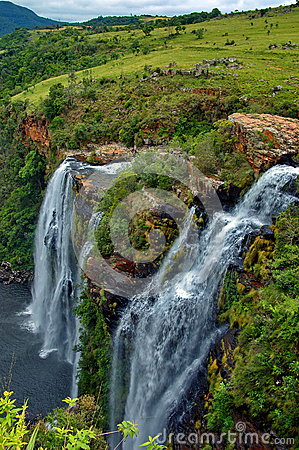 Lisbon waterfall, South Africa