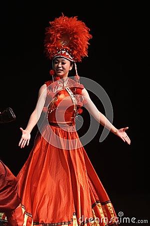 Lishui sands performance Editorial Photo
