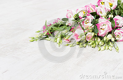 Lisianthuses  flower bouquet