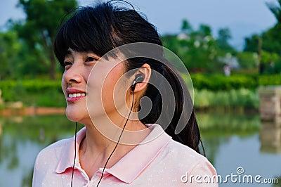 Listen to music of Asian women