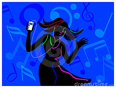 Listening and dancing