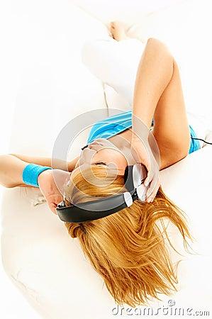 Free Listening Music Royalty Free Stock Photo - 809045