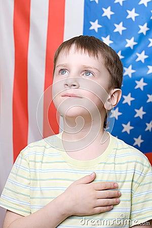 Listening national anthem