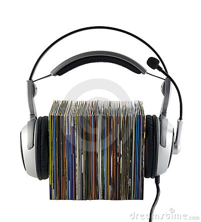 Free Listening To Music Concept, With Clipping Path Royalty Free Stock Images - 8534539