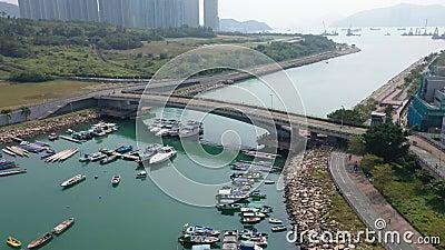 14 listopada 2019 r., obszar Hang Hau, TKO hong kong zbiory