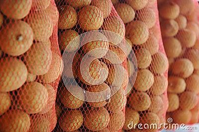 Litchiplommonfrukt