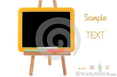 Liten blackboard