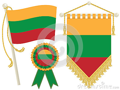 Lithuania flags