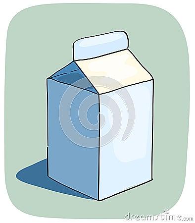 Litle milk box.
