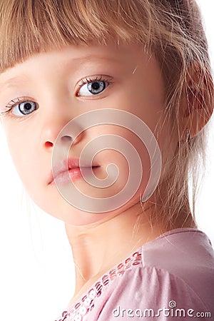 Litlle girl face