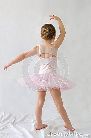 Littel girl Ballerina