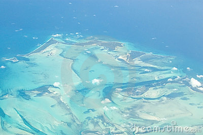 Little Abaco Island, Bahamas, Aerial view