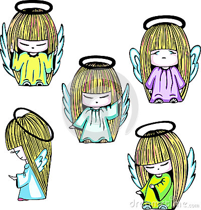 Little angel girls