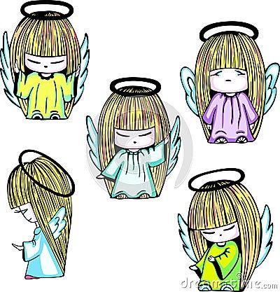 Little angel girls