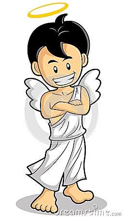 Little angel smile