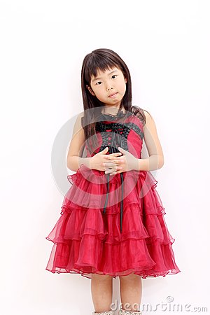 A little asian girl