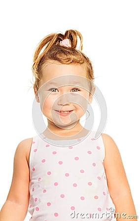 Little Asian girl portrait