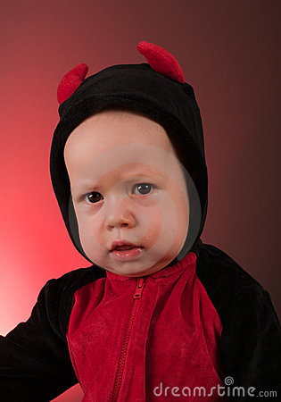 Free Little Baby Boy Devil Royalty Free Stock Photo - 16356775