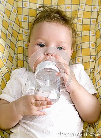 Little baby drink