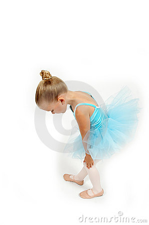 Free Little Ballerina Feet Royalty Free Stock Photography - 796887