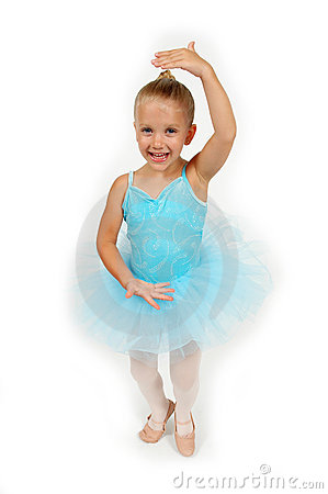 Free Little Ballerina Pose Royalty Free Stock Photography - 891057
