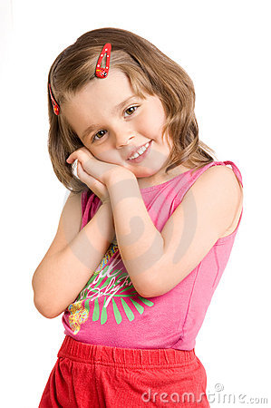 Free Little Beautiful Girl Stock Photo - 10389370