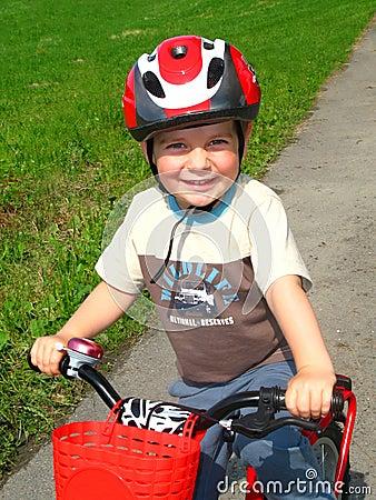 Free Little Biker Stock Images - 9943284