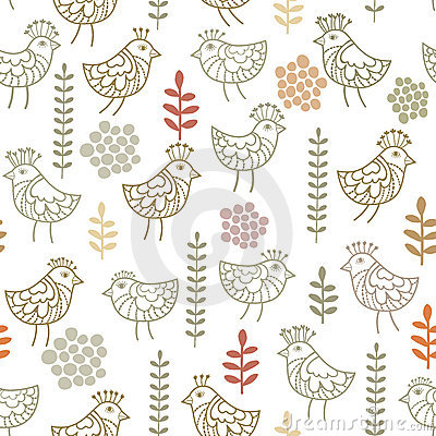 Little birds pattern