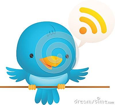 Little Blue Bird Talk