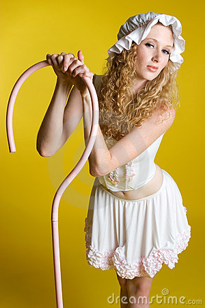 Free Little Bo Peep Costume Stock Images - 6261524