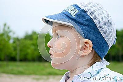 Little boy in the cap
