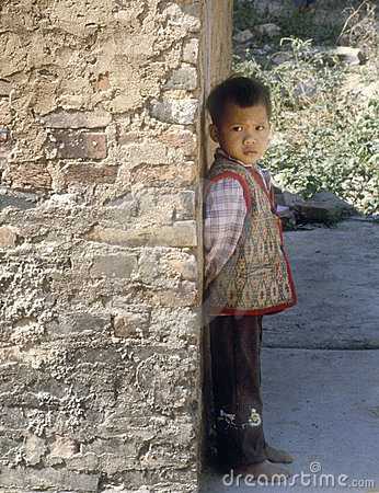 Little Boy, China Editorial Image